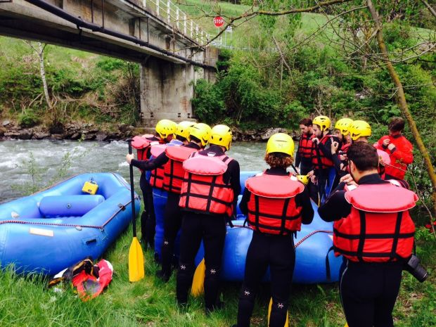 rafting, club activ, isarco, briefing, ma dove vai
